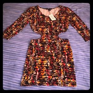 Women's Forever 21 Club Dress w/ Cut Outs Sz S NWT
